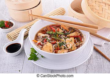 asian cuisine, soup