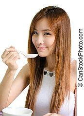 Asian cute girl