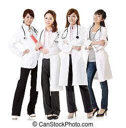 Asian doctor team