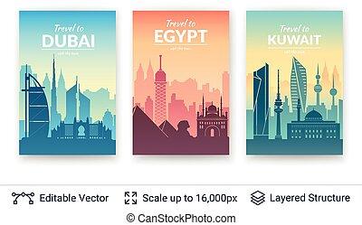 Asian famous views.