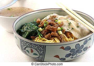 Asian food - A bowl of noodle, asian cuisine