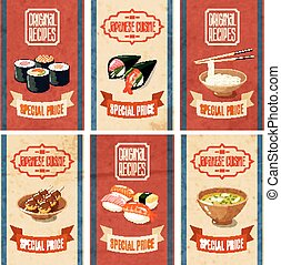 Asian Food Banners - Asian food original recipes japanese...