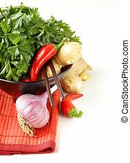 Asian food ingredients