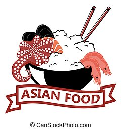 Asian Food, logo