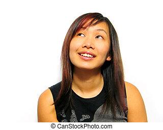 Asian Girl - asian girl smiling