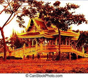 Asian Golden Bridge