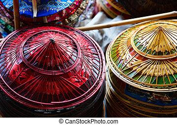 Asian hats