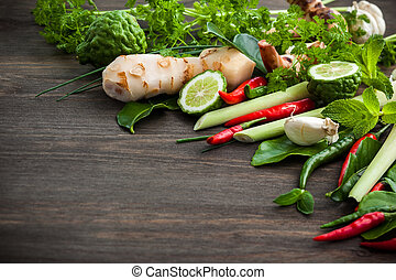Asian herbs and spice