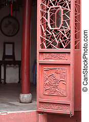 Asian home entrance