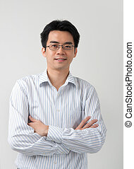 asian male business man
