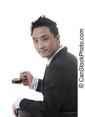 asian man business