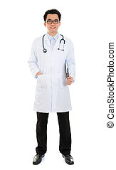 Asian medical male doctor