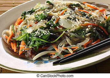 Asian noodle dish