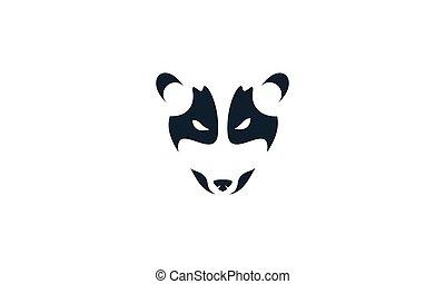Asian palm civet head design