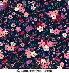 asian pattern - asian style seamless pattern