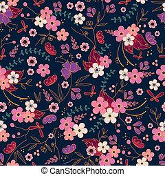 asian pattern - asian style seamless pattern