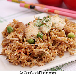 Asian Rice Meal
