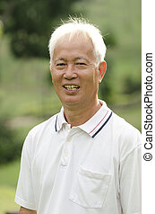 asian senior adult