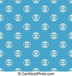 Asian shashlik pattern seamless blue - Asian shashlik...