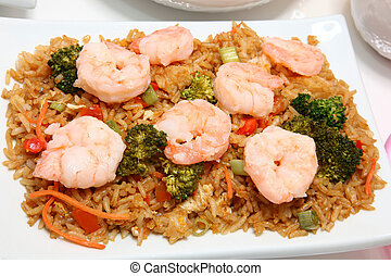 Asian Shrimp Fried Rice
