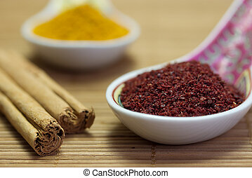 Asian spices.