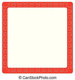 Asian style border