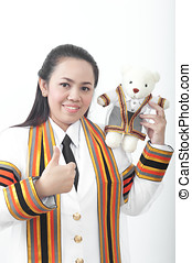 asian thai attractive Graduate female student