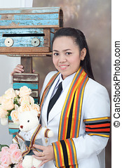 asian thai attractive Graduate female student