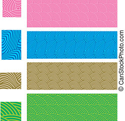 Asian traditional, seamless pattern - Another four simply ...