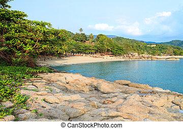 Asian tropical beach paradise