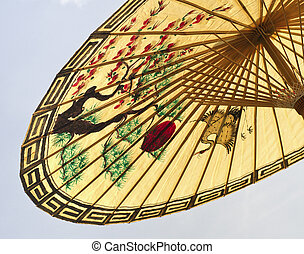 asian umbrella detail
