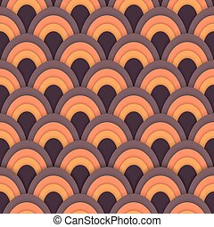 Asian vector seamless abstract pattern