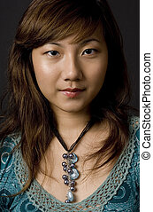 Asian Woman - A beautiful young asian woman