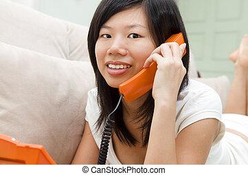 chatting phone