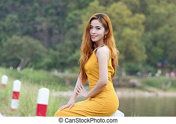 Asian Woman Portrait photography