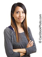 Asian woman portrait