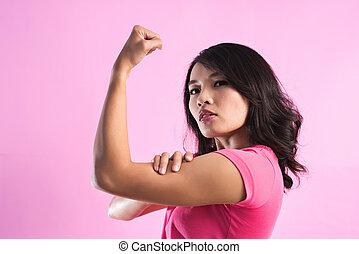 asian woman power