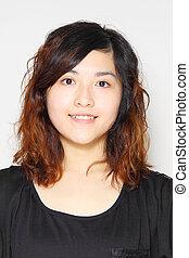 Asian woman