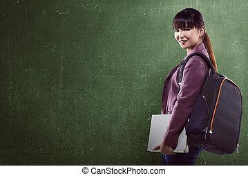 asiat, högskola studerande