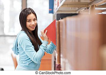 asiatico, studente università