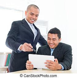 asiatico sud-est, persone affari