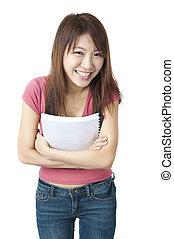 asiatique, étudiant