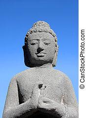 asiatique, bouddhiste, déesse