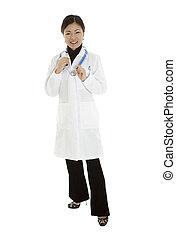 asiatique, docteur