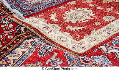 persans vente collection oriental pr cieux tapis photo de stock rechercher images et. Black Bedroom Furniture Sets. Home Design Ideas