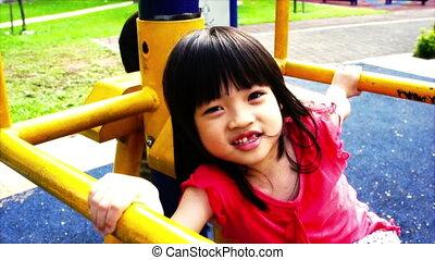 asiatisch, geschwister