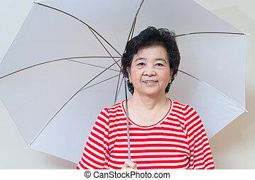 Uhr suchen asiatische Frau