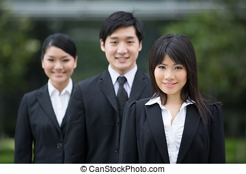 asijský povolání, team.