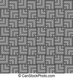 asimétrico, cuadrícula, seamless, plano de fondo