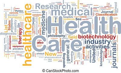 asistencia médica, plano de fondo, concepto